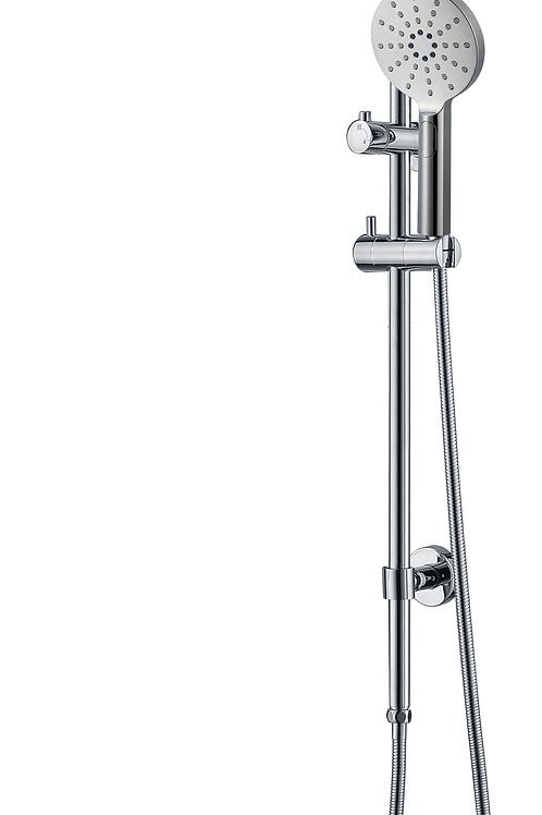 Dual-Function Round Shower Unit
