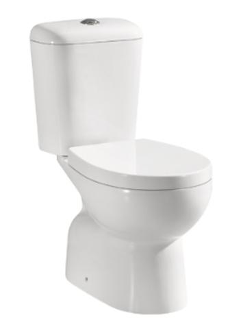 Close Coupled S-Trap Ceramic Toilet