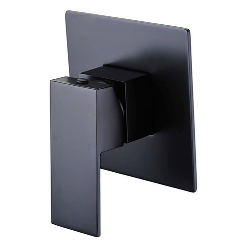 Black Square Wall Mixer