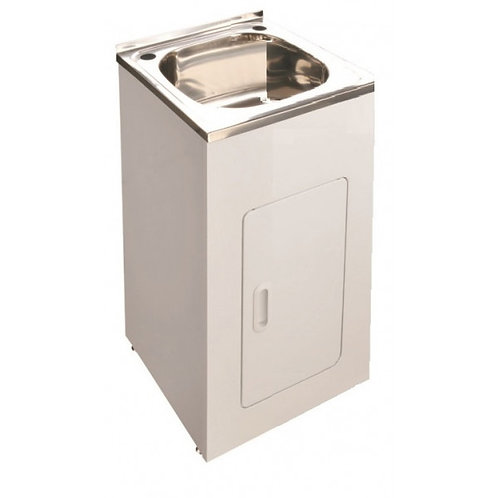 30L Mini Laundry Trough on Cabinet