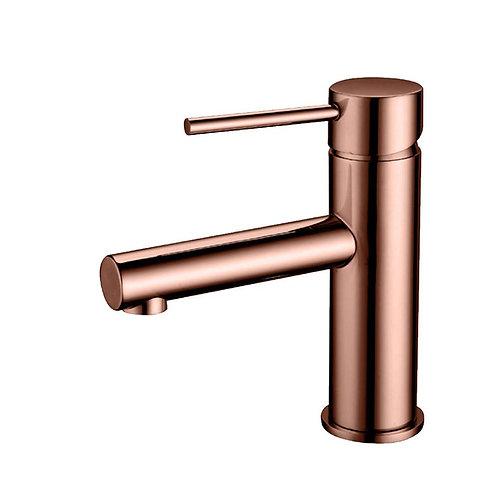 Rose Gold Round Basin Mixer