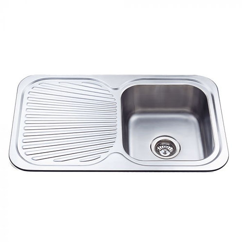 780mm Kitchen Sink with Strainer