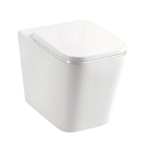 In-Wall-Cistern Back to Wall Ceramic Toilet (Square)