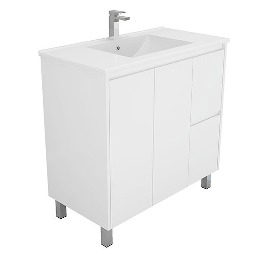 900mm Fingerpull Vanity Unit