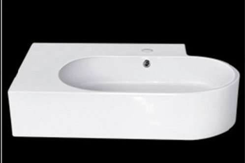Large Oval Counter-Top Ceramic Basin