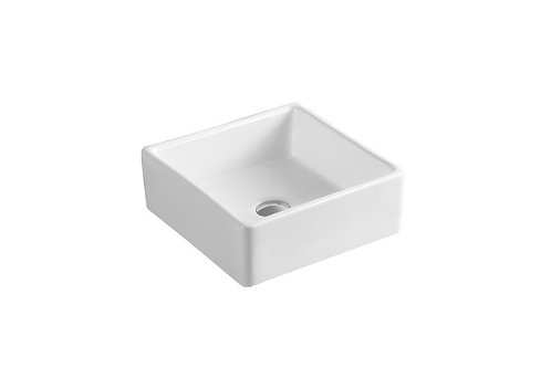 Square Counter-Top Ceramic Basin