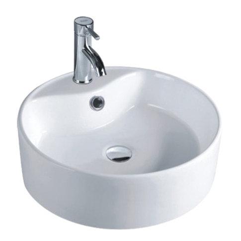 Round Counter-Top Ceramic Basin