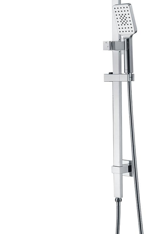 Dual-Function Square Shower Unit