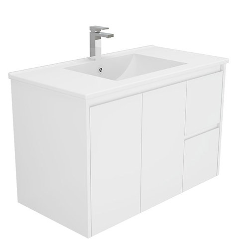 900mm Finger-Pull Wall-Hung Vanity Unit