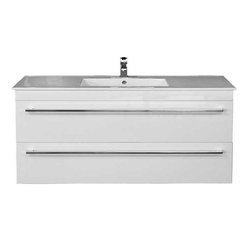 1200mm Double-Drawer Wall-Hung Vanity Unit