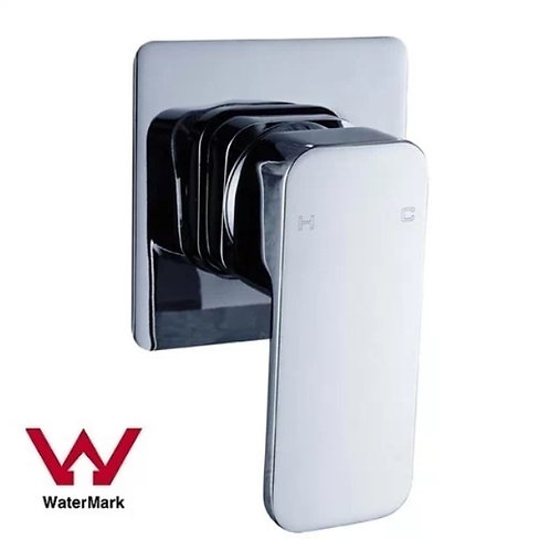 Square Wall Mixer with Rounded Edges