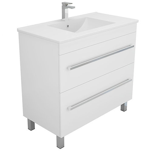 900mm Double-Drawer Vanity Unit