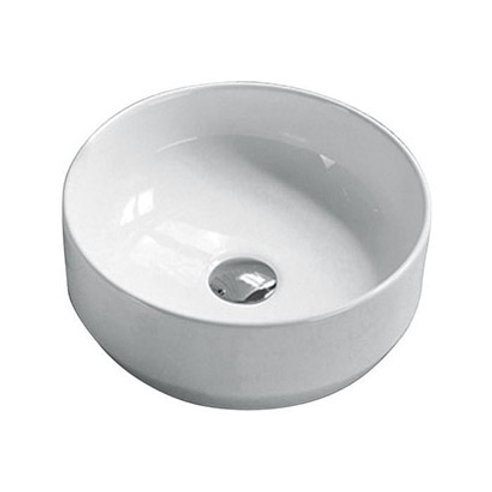 Round Counter-Top Ceramic Basin