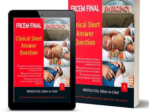 FRCEM Final-Clinical SAQ Volume 1, 2020 Edition, Full Colour