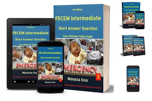 FRCEM Intermediate: SAQ 1 + SAQ 2 + eBook for each book (2020 editions)