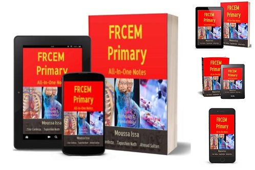 FRCEM PRIMARY: All-In-One Notes 2019, Full Colour & Primary eBook