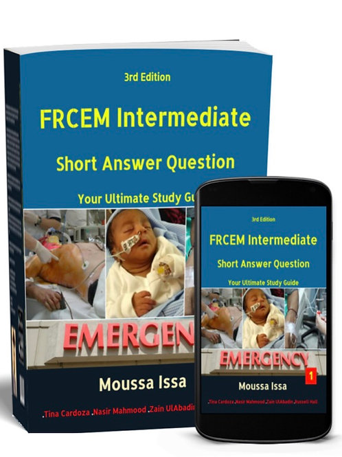 FRCEM Intermediate SAQ, 2020 Edition-Full Colour Volume 1