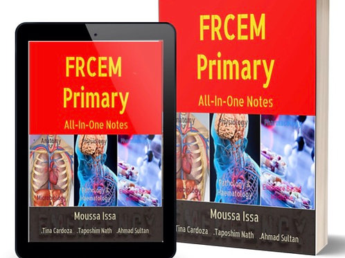 FRCEM Primary: All-In-One Notes; 5th Ed. Black&White