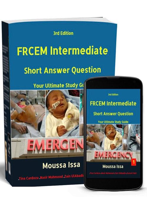 FRCEM INTERMEDIATE: Short Answer Question 2020 Edition, Full Colour Volume 1
