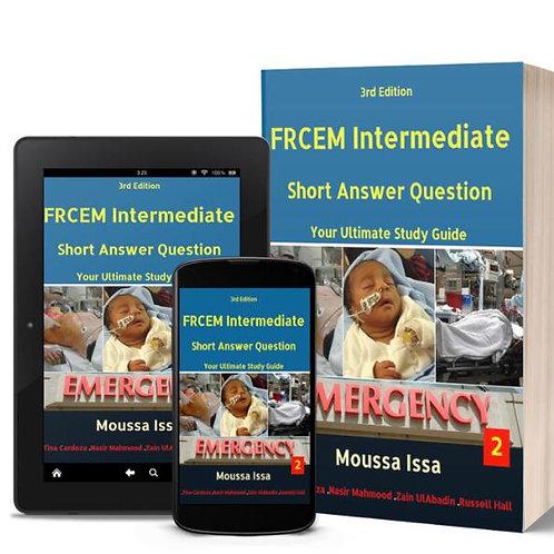 FRCEM INTERMEDIATE: Short Answer Question 2020 edition, Full Colour Volume 2
