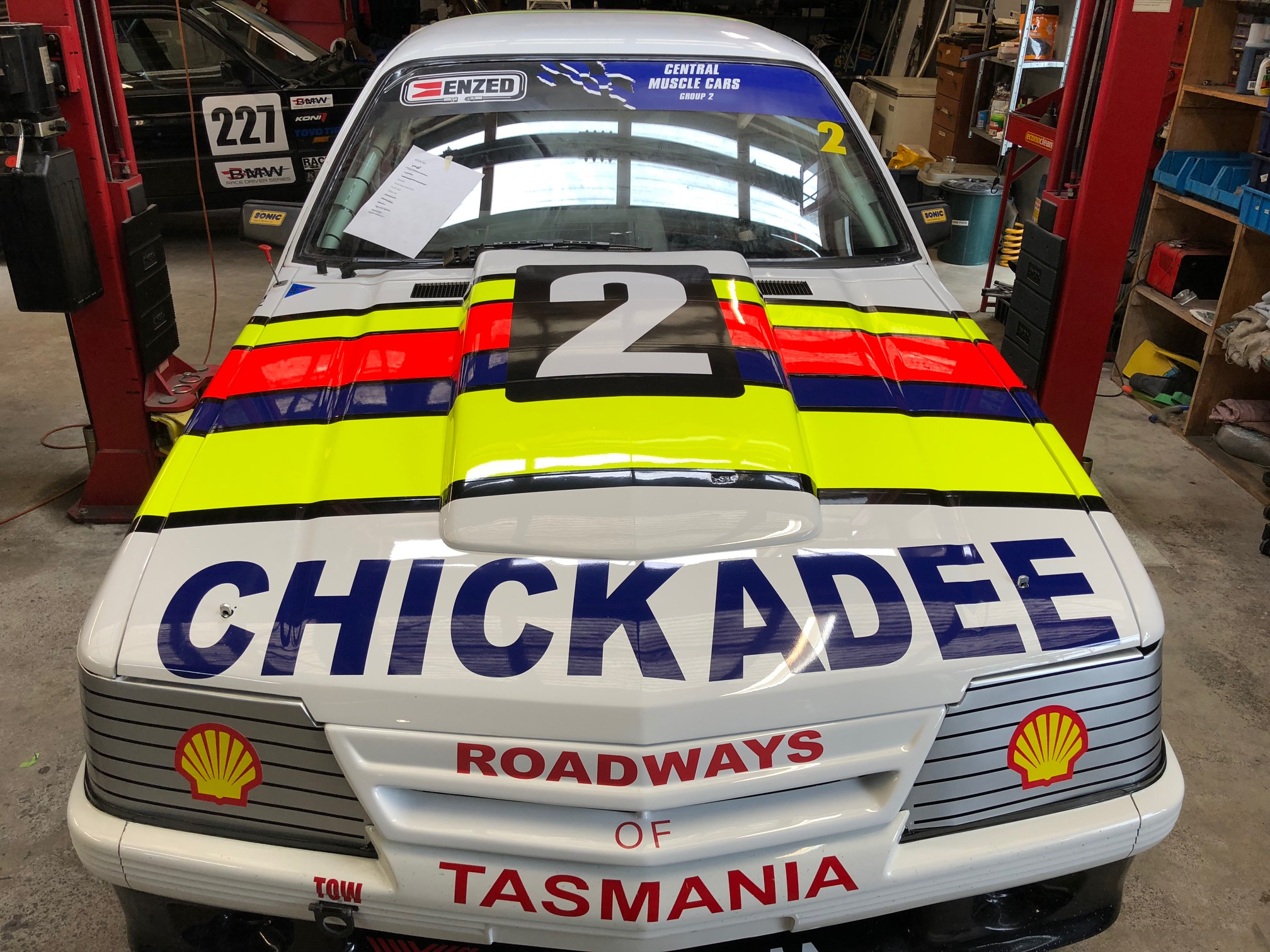 Racecar - chickadee front