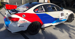 Race car decals M3 #1