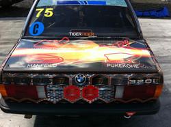 Racecar full wrap - boot