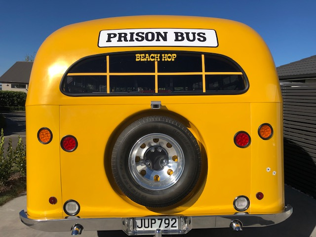 Prison Bus decals for Beach Hop 2019