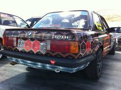 Racecar full wrap - rear