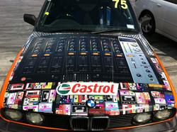 Racecar full wrap - bonnet