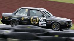 Racecar Decals - Gold Crome