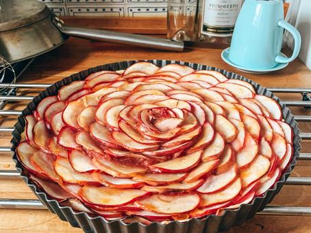 French Apple Rose Tart