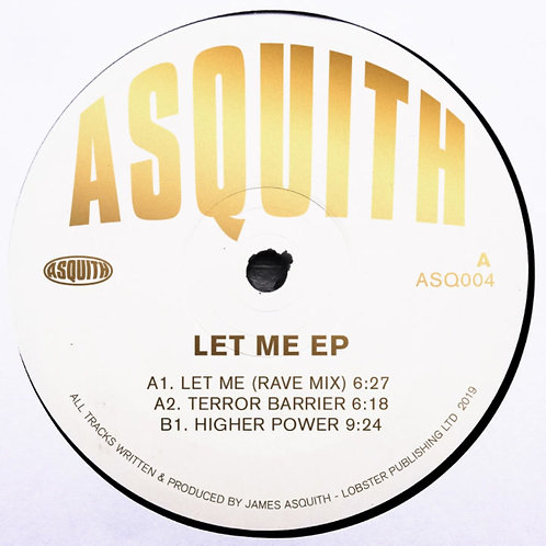 Asquith 'Let Me EP'  (Asquith)