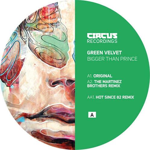 Green Velvet 'Bigger Than Prince' (Circus Recordings)