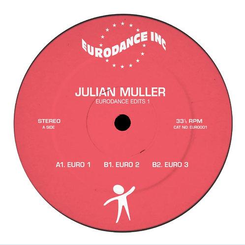 Julian Muller 'Eurodance Edits Vol.1' (Eurodance INC.)