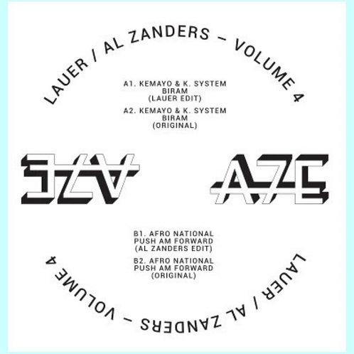 Lauer / Al Zanders 'Africa Seven Presents A7Edits Volume 4' (A7 Edits)