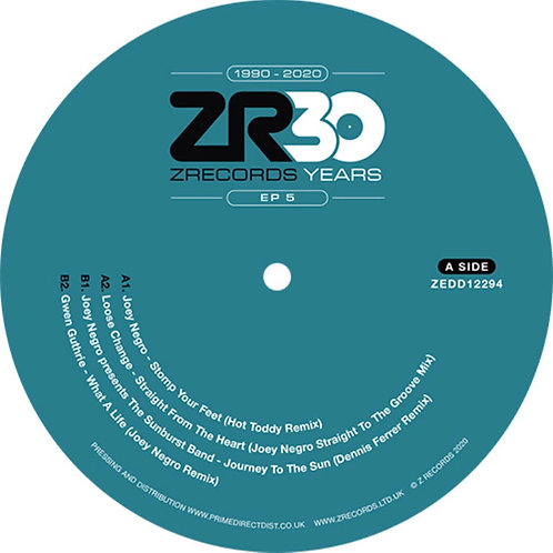 Dave Lee presents 30 Years of Z Records 'EP 5' (Z Records)