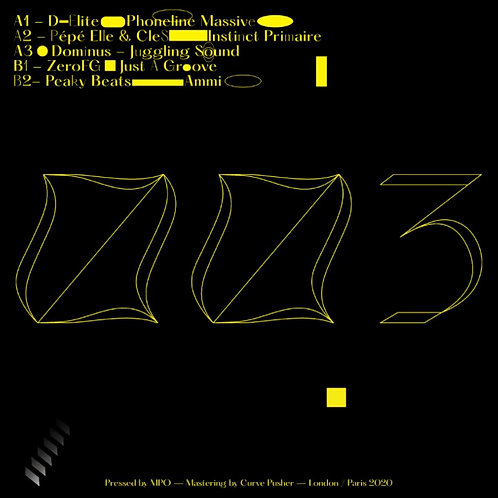 Various Artists '3 Feet Deep 003' (3 Feet Deep)