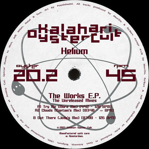 Helium 'The Works E.P. Unreleased Mixes' (Kalahari Oyster Cult)
