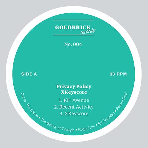 Privacy Policy 'XKeyscore' (Goldbrick Records)