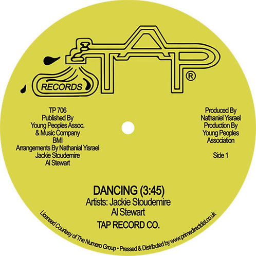 Jackie Stoudemire 'Dancing' RSD (Tap Records)