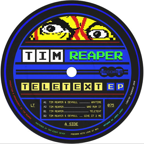 Tim Reaper 'Teletext EP' (Lobster Theremin)