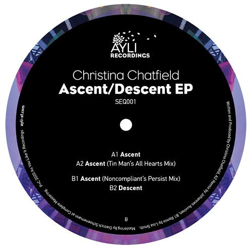 Christina Chatfield 'Ascent/Descent EP' (As You Like It Recordings)