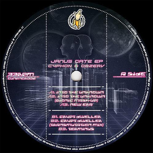 Cyphon & Obzerv 'Janus Gate EP' (Gunfinger Food)