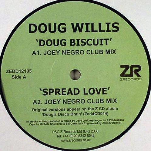 Doug Willis 'Dougswana Remix EP' (Z Records)