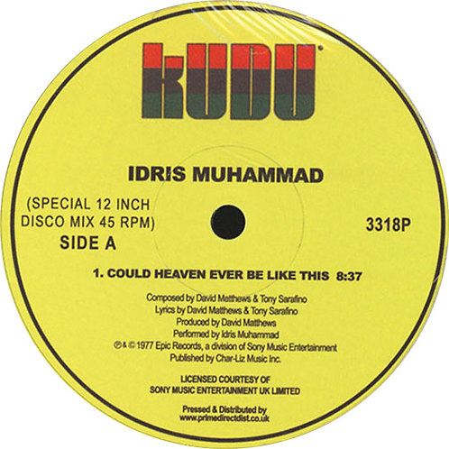 Idris Muhammed 'Could Heaven Ever Look Like This' (Kudo)