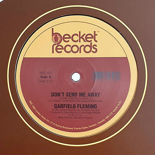 Garfield Fleming 'Don't Send Me Away' (Becket Records)