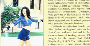 Skating Her Way to a Million, Inside Magazine, The Jewish Life