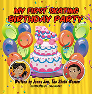My First Skating Party Birthday book by Jenny Jen the Skate Woman