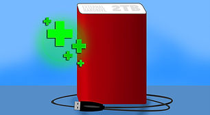 picture of a 2tb external hard drive for data transfer cape coral swfl